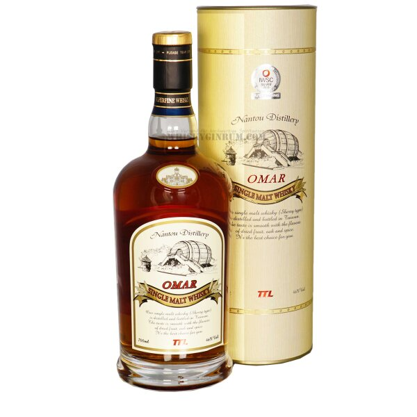 Omar Sherry Cask Whisky aus Taiwan