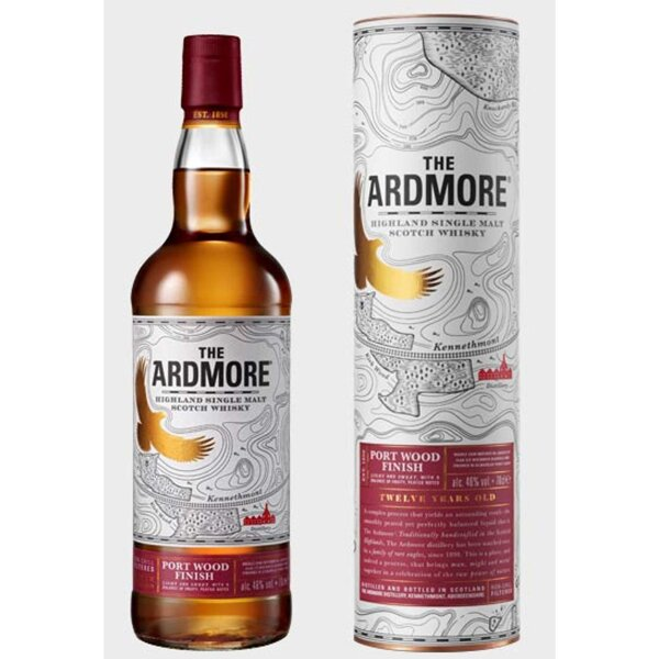 Ardmore 12 Jahre 46% Port Wood Finish