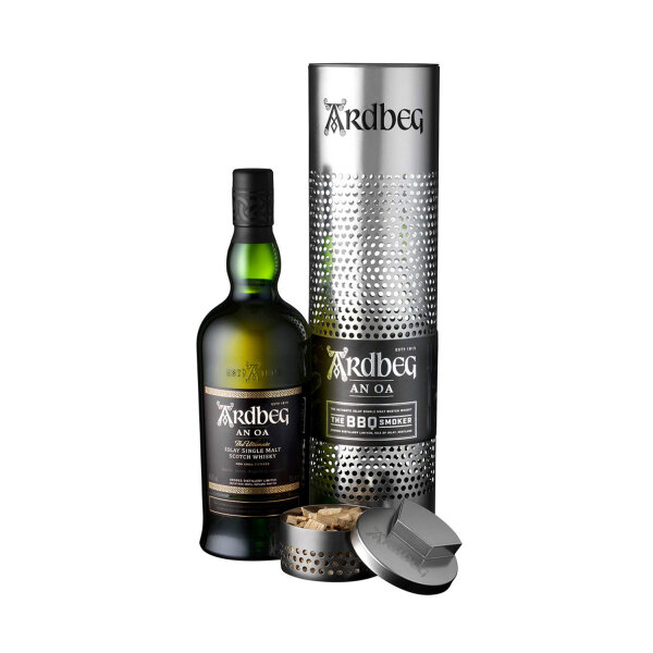 Ardbeg AN OA The BBQ Smoker Whisky 46,6% Limited Edition