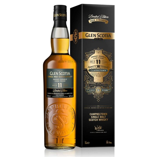 Glen Scotia 11 Jahre Sherry Double Cask Finish 54,1%