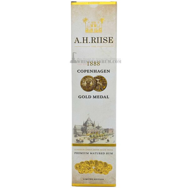 A.H. Riise 1888 Gold Medal Rum 40%