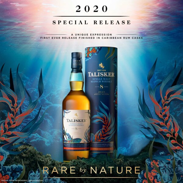 Talisker 8 Jahre Special Release 2020 Caribbean Rum Cask Finish 57,9%