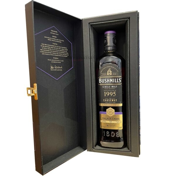 Bushmills Causeway Collection 25 Jahre 1995/2020 53,5% Malaga Cask