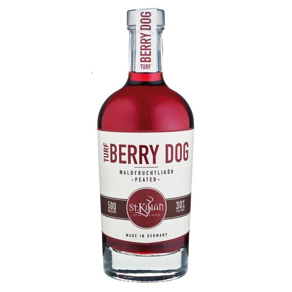 St. Kilian Turf Berry Dog Waldfrucht-Likör Peated 30% 0,5l